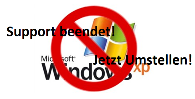 Windows XP Support beendet