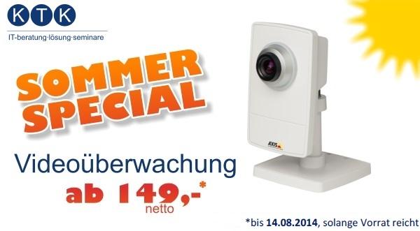 Sommer-Special Videoüberwachung
